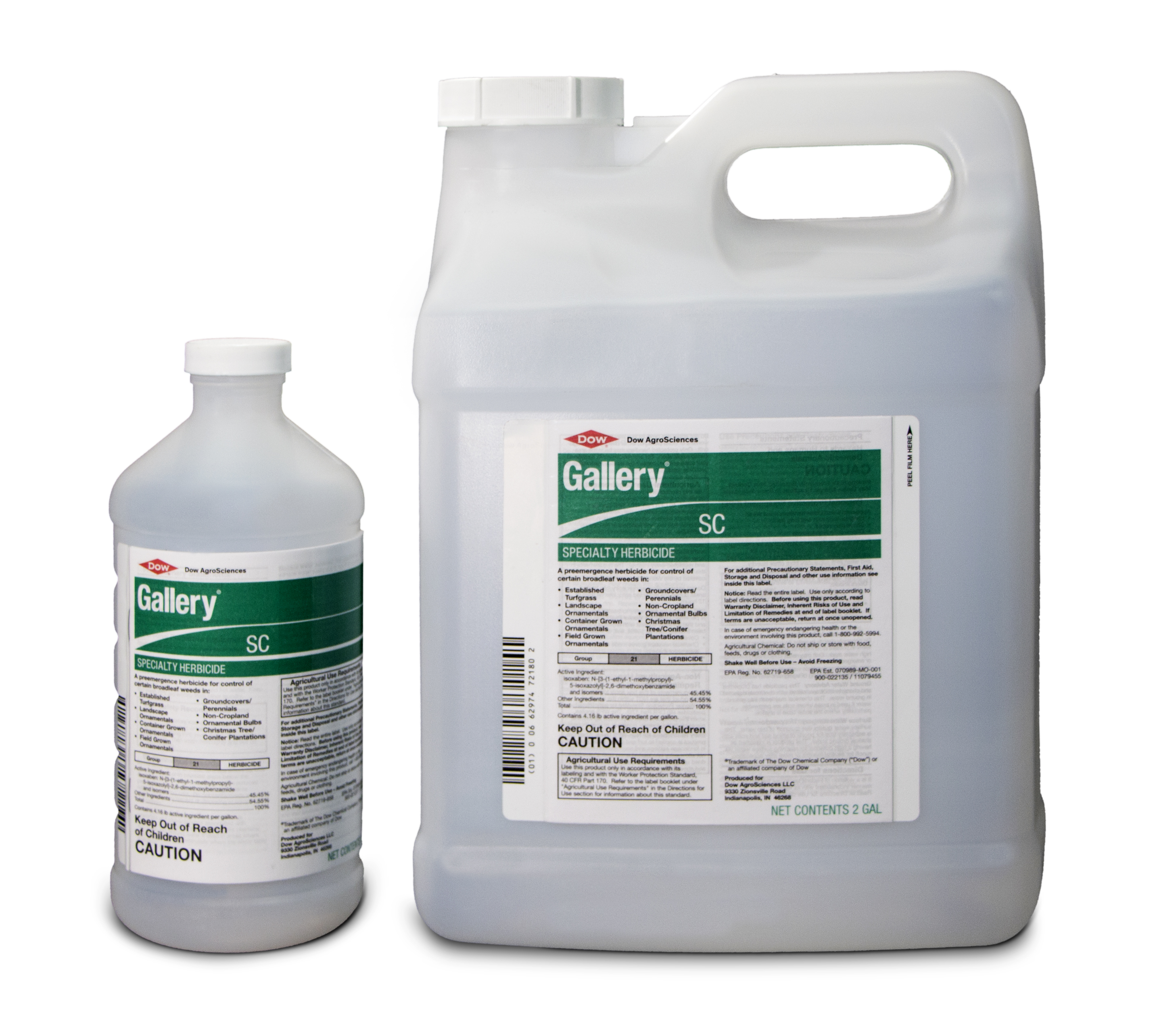 Gallery SC 2 Gallon and 1 Quart